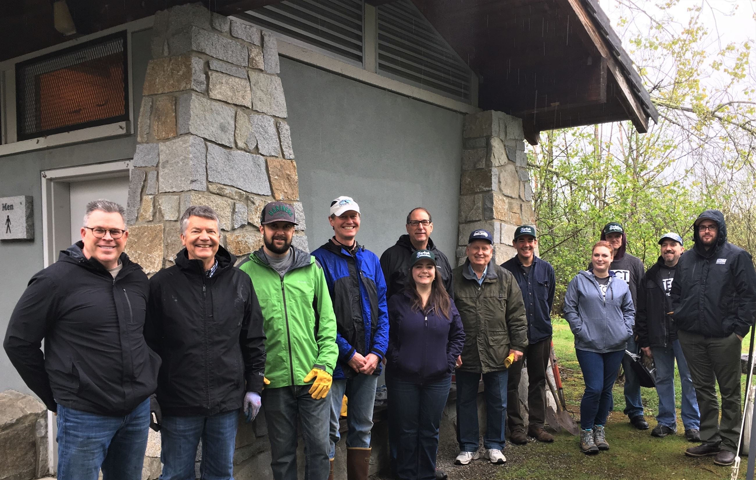 Work party Earth Day 2019