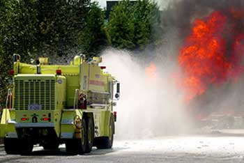 Fuel Tanker Fire